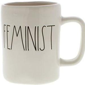 Rae Dunn Feminist Ceramic Coffee Tea Mug